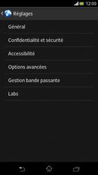 Sony Xperia V - Internet et roaming de données - Configuration manuelle - Étape 21