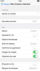 Apple iPhone 6 Plus iOS 8 - E-mail - configuration manuelle - Étape 8