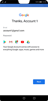 Huawei P20 - Android Pie - Applications - Setting up the application store - Step 17