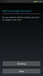 HTC One Max - Applications - Setting up the application store - Step 4