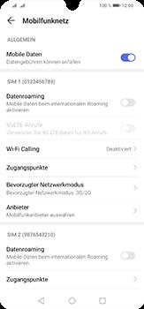 Huawei P30 Lite - Netzwerk - So aktivieren Sie eine 4G-Verbindung - Schritt 5