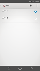 Sony Xperia Z3 Compact - Internet e roaming dati - Configurazione manuale - Fase 16