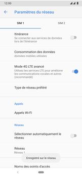 Nokia 7.2 - Réseau - Sélection manuelle du réseau - Étape 13
