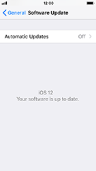 Apple iPhone 5s - iOS 12 - Device - Software update - Step 7
