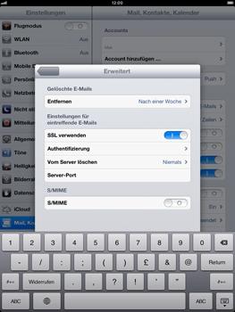 Apple iPad mini - E-Mail - Manuelle Konfiguration - Schritt 20