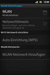Sony Xperia Go - WLAN - Manuelle Konfiguration - 2 / 2