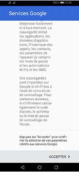 Huawei Y6 (2019) - Applications - Créer un compte - Étape 17