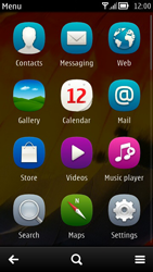 Nokia 700 - MMS - Sending pictures - Step 2