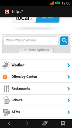 Alcatel One Touch Idol Mini - Internet e roaming dati - uso di Internet - Fase 18