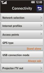 LG GD900 Crystal - MMS - Manual configuration - Step 4