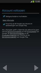 Samsung G386F Galaxy Core LTE - Applicaties - Account aanmaken - Stap 17