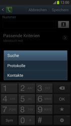 Samsung Galaxy S III - OS 4-1 JB - Anrufe - Anrufe blockieren - 0 / 0