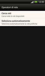 HTC One SV - Rete - Selezione manuale della rete - Fase 6