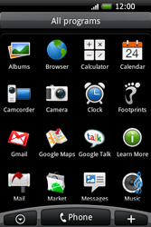 HTC A6262 Hero - MMS - Sending pictures - Step 2