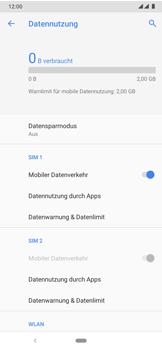Nokia 7.2 - Internet und Datenroaming - Prüfen, ob Datenkonnektivität aktiviert ist - Schritt 7