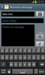 Samsung I8260 Galaxy Core - MMS - Envoi d