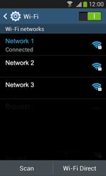 Samsung Galaxy Ace III - WiFi - WiFi configuration - Step 8