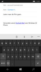 Microsoft Lumia 650 - E-mail - Bericht met attachment versturen - Stap 8