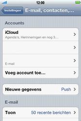 Apple iPhone 4 S - E-mail - e-mail instellen: POP3 - Stap 9