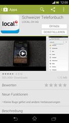 Sony Xperia V - Apps - Installieren von Apps - Schritt 10