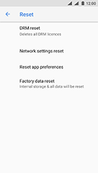Nokia 3 - Android Oreo - Device - Factory reset - Step 7