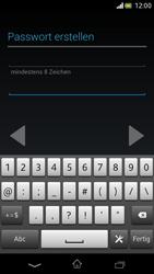 Sony Xperia V - Apps - Einrichten des App Stores - Schritt 12