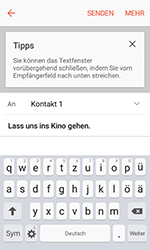 Samsung G389 Galaxy Xcover 3 VE - E-Mail - E-Mail versenden - Schritt 9