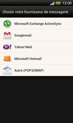 HTC One SV - E-mail - Configuration manuelle - Étape 5