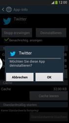 Samsung Galaxy S 4 LTE - Apps - Eine App deinstallieren - Schritt 8