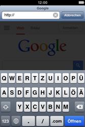 Apple iPhone 4 - Internet und Datenroaming - Verwenden des Internets - Schritt 8