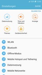Samsung G920F Galaxy S6 - Android M - WLAN - Manuelle Konfiguration - Schritt 4