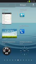 Samsung Galaxy S III LTE - Operazioni iniziali - Installazione di widget e applicazioni nella schermata iniziale - Fase 5