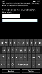 Nokia Lumia 830 - Apps - Konto anlegen und einrichten - Schritt 21