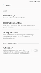 Samsung Galaxy A5 (2016) - Android Nougat - Mobile phone - Resetting to factory settings - Step 6