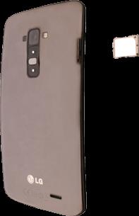LG D955 G Flex - SIM-Karte - Einlegen - Schritt 5