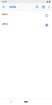 Google Pixel 3 - Internet - Manuelle Konfiguration - 20 / 28