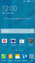 Samsung G850F Galaxy Alpha - Risoluzione del problema - Internet e copertura di rete - Fase 1