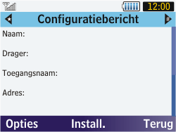 Samsung S3570 Chat 357 - Internet - automatisch instellen - Stap 5