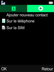 Mobiwire Leyti - Contact, Appels, SMS/MMS - Ajouter un contact - Étape 5