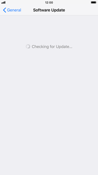 Apple iPhone 8 Plus - iOS 12 - Device - Software update - Step 6