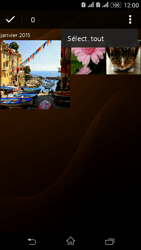Sony Xperia E4g - Photos, vidéos, musique - Envoyer une photo via Bluetooth - Étape 10