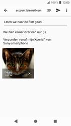 Sony xperia-xa1-g3121-android-oreo - E-mail - Bericht met attachment versturen - Stap 16