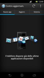 Sony Xperia T - Software - Installazione degli aggiornamenti software - Fase 7