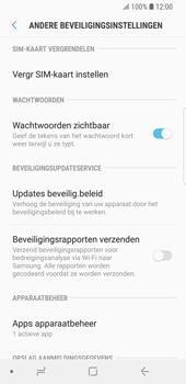 Samsung Galaxy S9 (SM-G960F) - Beveiliging en ouderlijk toezicht - Hoe wijzig ik mijn SIM PIN-code - Stap 6