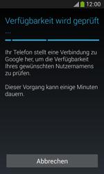 Samsung S7275 Galaxy Ace 3 - Apps - Konto anlegen und einrichten - Schritt 10