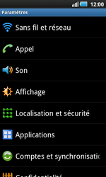 Samsung I9000 Galaxy S - MMS - configuration manuelle - Étape 5