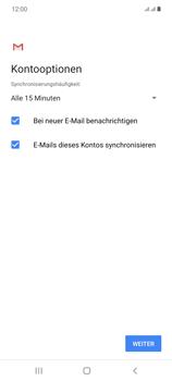 Samsung Galaxy Note 20 5G - E-Mail - Manuelle Konfiguration - Schritt 20