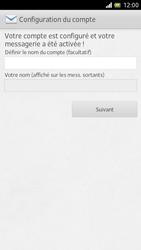 Sony LT28h Xperia ion - E-mail - Configuration manuelle - Étape 14