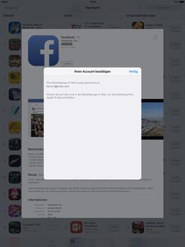 Apple iPad Pro 12.9 inch - Apps - Konto anlegen und einrichten - 32 / 35