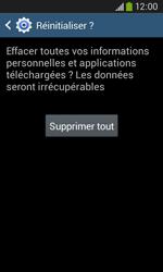 Samsung Galaxy Ace 3 - Aller plus loin - Restaurer les paramètres d'usines - Étape 8